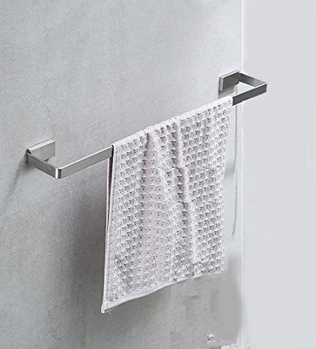 FACAIG Handtuchhalter Handtuchhalter/Edelstahl Handtuchhalter/Einzel Doppel pole Handtuchhalter/Badezimmer Anhänger Modern (Größe: 60 cm) (Doppel-pole Line)