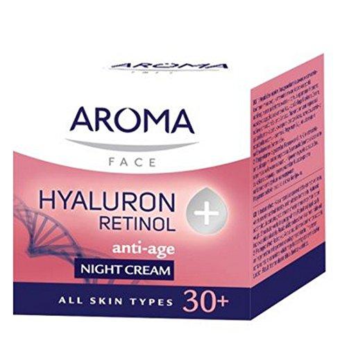 NIGHT CREAM AROMA HYALURON + RETINOL by Aroma