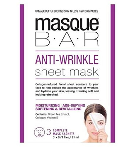 Bar Masque Anti Rides Masque De Feuille - 3S - Lot De 6
