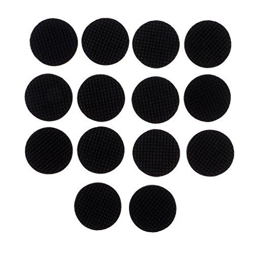 Sharplace 23mm/35mm Anti Rutsch Runde Silikon Pads Selbstklebende Möbelschutz - Schwarz 25 stück,...