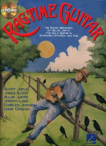 Ragtime Guitar: 14 Songs Arranged for Solo Guitar