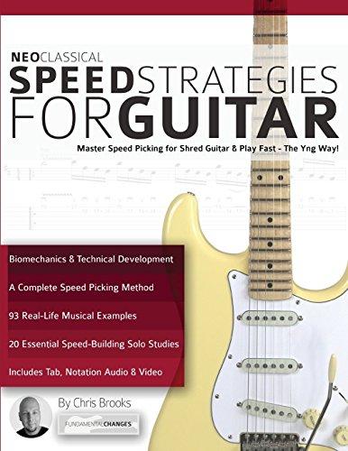 Neo Classical Speed Strategies for Guitar por Chris Brooks