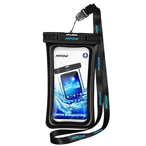 Wasserdichte Hülle,Mpow Wasserdichte Handytasche,Schwimmende wasserdichte handyhülle für IPhone 7/7 Plus/6/6s,Wasserdichte Hülle Handyhülle für Huawei P9 / P9 Plus, Galaxy S8 usw bis zu 5.8 zoll.