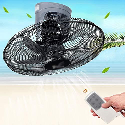 Wall-mounted fan ALY® Ventilador De Pared con Mando A Distancia, Oscilante/Silencioso / 90w / Temporizador...