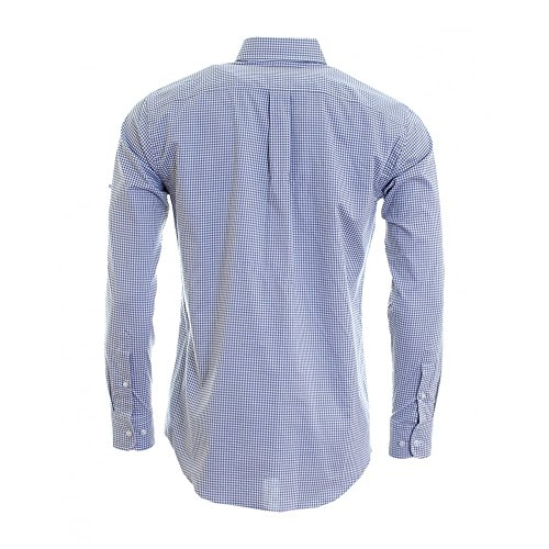Fynch Hatton Light Structure Check BD Mens Shirt Grey