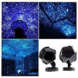 lampara proyector estrellas, proyector planetario educativo color azul by Sannysis