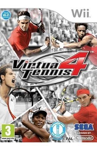 Jeux Wii Tennis - Virtua Tennis 4 [import