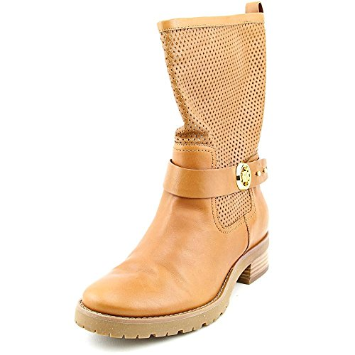 Michael Michael Kors Daria Flat Boot Cuir Botte Luggage