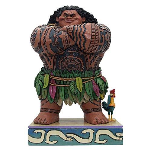 Enesco Disney Traditions Figurita Maui (Vaiana), Resina,...