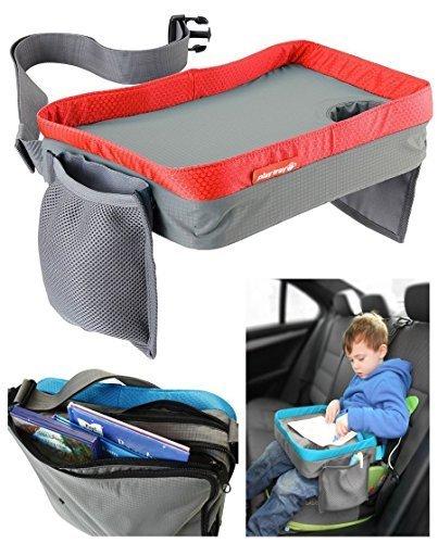 Creative 7 Kinder Play Tray Spiel und Esstisch Knietablett Rot (Auto Tray)