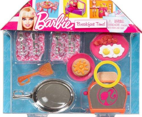 Imagen 1 de Barbie V3935 - Accesorios - Muñeca Mini y la muñeca Desayuno