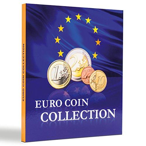 LEUCHTTURM 346511 Münzenalbum PRESSO Euro Coin Collection Münzalbum für 26 Euro -Kursmünzensätze -