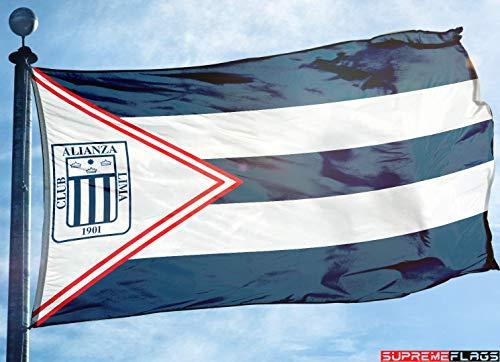 Alianza Lima Flag Banner (90 x 150 cm) Peru Futbol Soccer Bandera Flagge