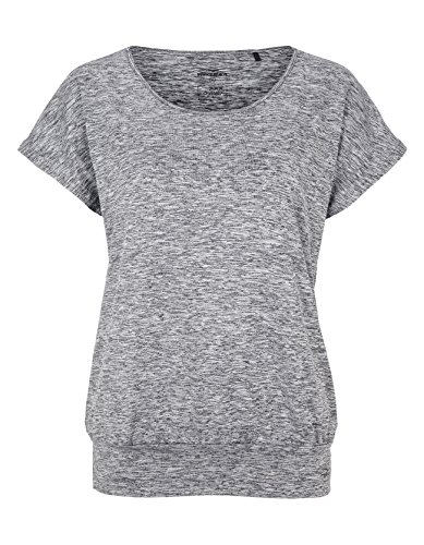 Venice Beach Damen Riamee Body Shirt T, Coal B Mel, M