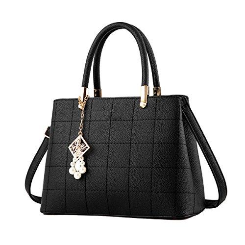 Handtaschen Umhängetasche Kuriertasche Handtasche Neutral Retro Einfache Reise Black