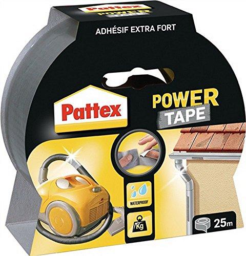 Gewebedichtband PP25S Powertape B.50mm 25m univ. HENKEL, 12 Stück