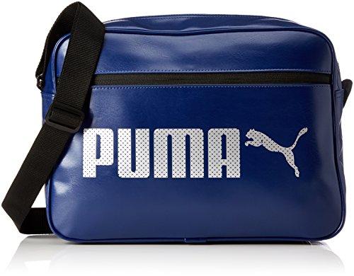 Puma Unisex Campus Reporter Umhängetasche blue depths