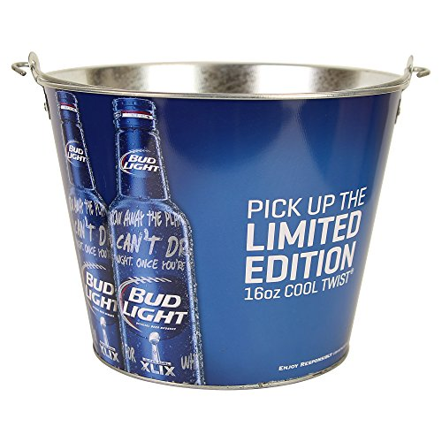 Bier Marke Full Color Aluminium Bier Bucket Bud Light Cool Twist