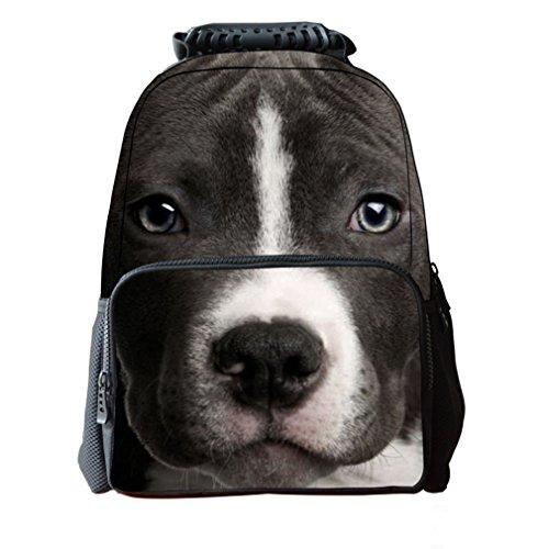 3D Hundedruck Jugend Taschen Für Schule Rucksack Mit Laptop Fach Für Kinder Jungen Mädchen Schule Bookbag Online