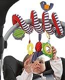 TININNA Colgar Juguetes para Bebé Infantil , Bebé de Juguetes Colgantes Actividad Espiral Cama Cochecito Juguete Peluche Juguete de Kids Niños Niñas Educativo Sonajero Toys para Regalos Recién Nacidos-Rayas de color 1#