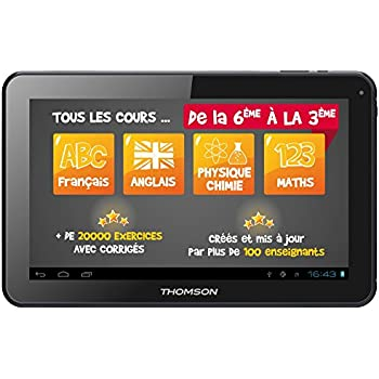 thomson teo qd10bk8e tablette tactile 10 8 go android 5. Black Bedroom Furniture Sets. Home Design Ideas