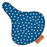 BikeCap Dot-Sitz-Bezug, Blau, Größe L