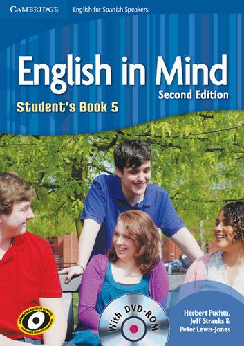 English in Mind for Spanish Speakers  5 Student's Book with DVD-ROM - 9788483237588