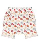 Sense Organics Baby-Mädchen Emilio Retro Shorts Gots-Zertifiziert, Mehrfarbig (Aop Peacock 781005), 74 (Herstellergröße: 6M)