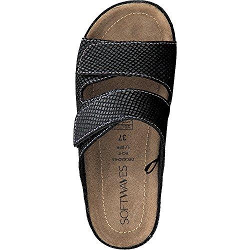Softwaves - Pantofole Donna Black