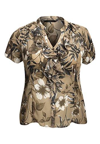 strawberry-hill-cottage-camisas-blusa-manga-corta-para-mujer-beige-beige-grey-cream