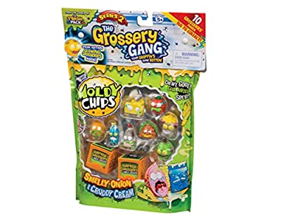 "Grossery Gang ""Series 2"" Playset (Pack of 10)"