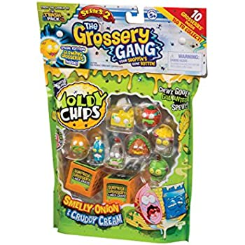 Grossery Gang Series 2 Playset Pack of 10 Amazoncouk Toys