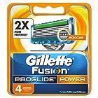 Gillette Fusion ProGlide Power Men's Razor Blades, 4 Blades