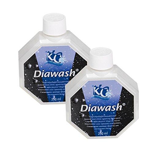 2 x Diawash,Spezialwaschmittel für Wasserbettauflagen ,Bezüge und andere