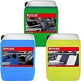 Brestol 7526 Kit de Nettoyage pour aérosol avec 1 nettoyant Alcantara 5 l + 1 nettoyant 5 l en Plastique & nettoyant pour sols nettoyants
