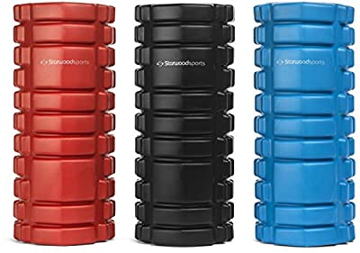 Foam Roller for Deep Tissue Muscle Massage - Trigger Point Therapy - Myofascial Release - Muscle Roller for Fitness, CrossFit, Yoga & Pilates