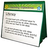 Primary Teaching Services A4 Double-Sided Group Focus Classroom Display Board - Green
