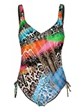 Sunflair Damen Badeanzug Wild Colors 22395 multicolor, 38C
