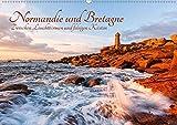 Normandie und Bretagne: Zwischen Leuchttürmen und felsigen Küsten (Wandkalender 2020 DIN A2 quer)