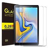 ELTD Panzerglas Schutzfolie für Samsung Galaxy Tab A 10.5 SM-T590/T595, 2.5D, 9H Härte, gehärtetes Glas Display Schutzfolie für Samsung SM-T595/T590 Galaxy Tab A 10.5 Zoll 2018 [2 Stück]