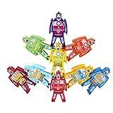 CraftDev Colorful Building Blocks Educational Training Brain Intellect Kids Games Balance Beam Toys ( Robot Design )