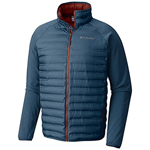 Columbia Flash Forward Hybrid Doudoune Homme, Blue Heron, FR : M (Taille Fabricant : M)