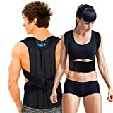 Posture Corrector Back Brace for Men and Women - Effective Shoulder, Spinal