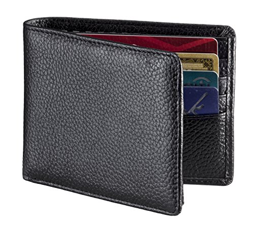 rfid-blocking-wallet-secure-stylish-genuine-leather-wallets-for-men-extra-capacity-multi-card-travel
