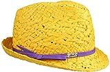 Alexandria Trilby Cappello Chillouts cappello da donna cappello estivo talla £nica - giallo