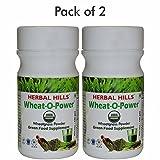 Herbal Hills Farm Fresh Wheatgrass Powder 100Gm New Pack - (Pack Of 2)