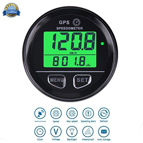 GPS Cuentakilometros Velocimetro digital Speed Meter Waterproof Digital GPS Backlight Speed Counter...