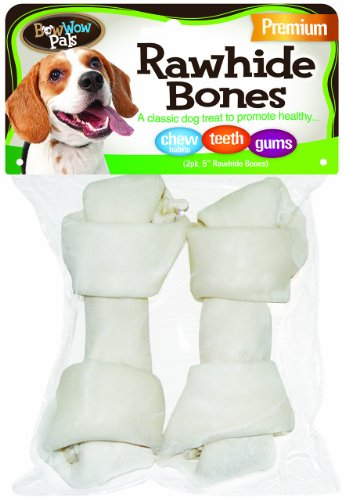 BOW WOW - Pals Premium Raw Hide Bones - 1 Toy