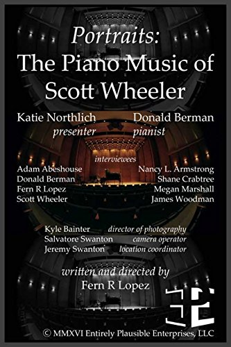 Portraits: The Piano Music of Scott Wheeler Movie Poster (27,94 x 43,18 cm) (Piano Portraits)