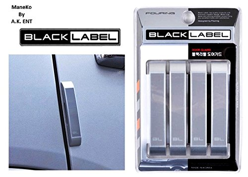 ManeKo Black Label Car Door Guard for Hyundai i20 Active All Models & Types - White (Set of 4)  available at amazon for Rs.195